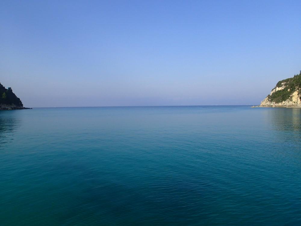 Der Buchtausgang bei Lakka