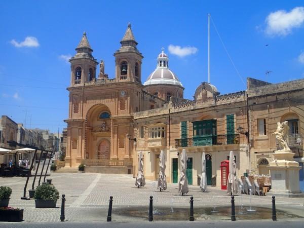 Die Kirche von Marsaxlokk