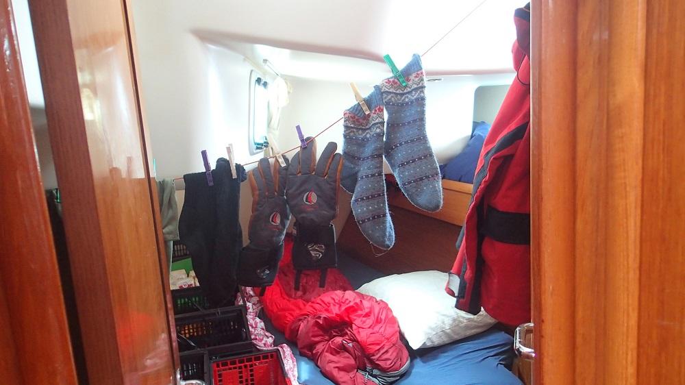 So sieht es aus, wenn der Dachboden zum Wäschetrocknen fehlt
