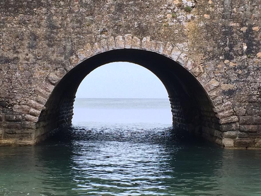 Die alte Stadtmauer von Peniche