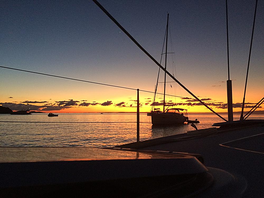 Herrliche Morgenstimmung kurz vor Sonnenaufgang