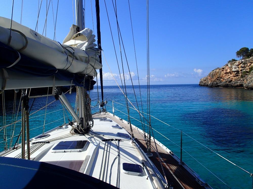 Wundervoller Ausblick aus der Bucht