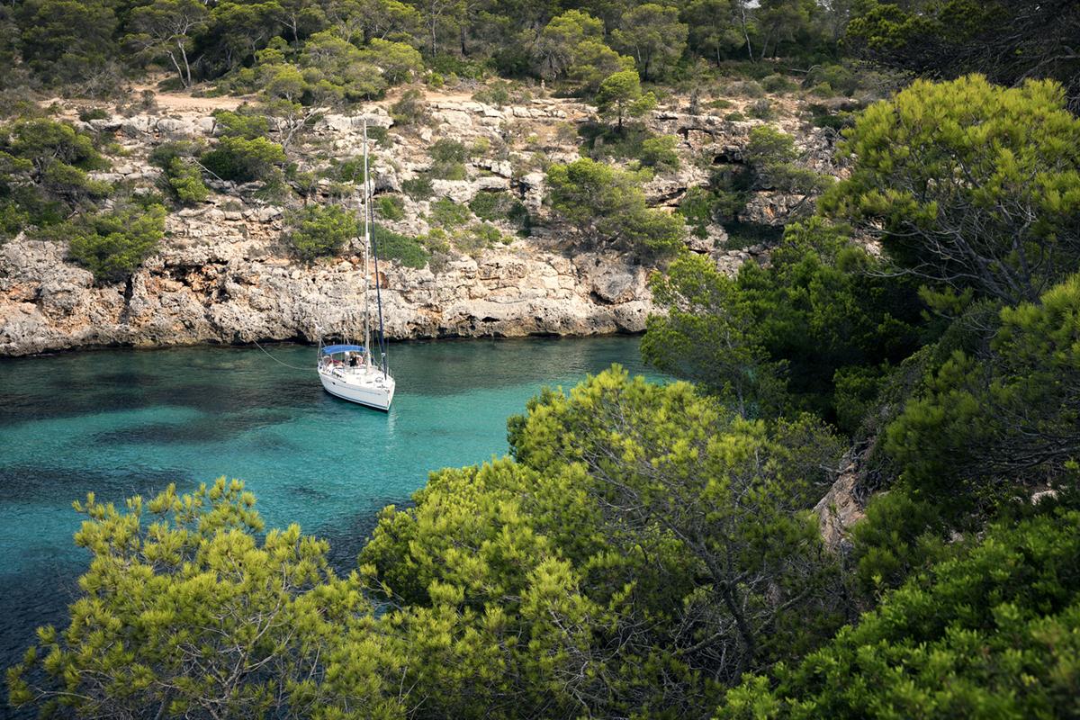 Traumkulisse vor Mallorca