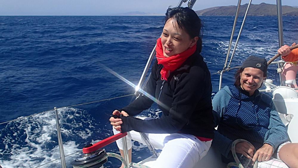 Manövertraining vor Fuerteventura