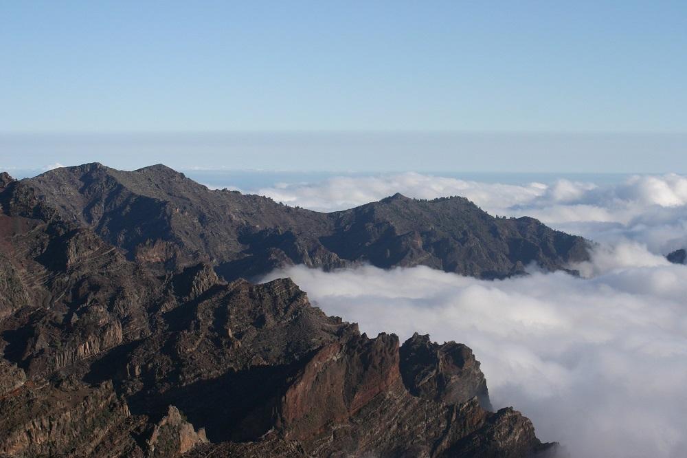 Über den Wolken auf La Palma