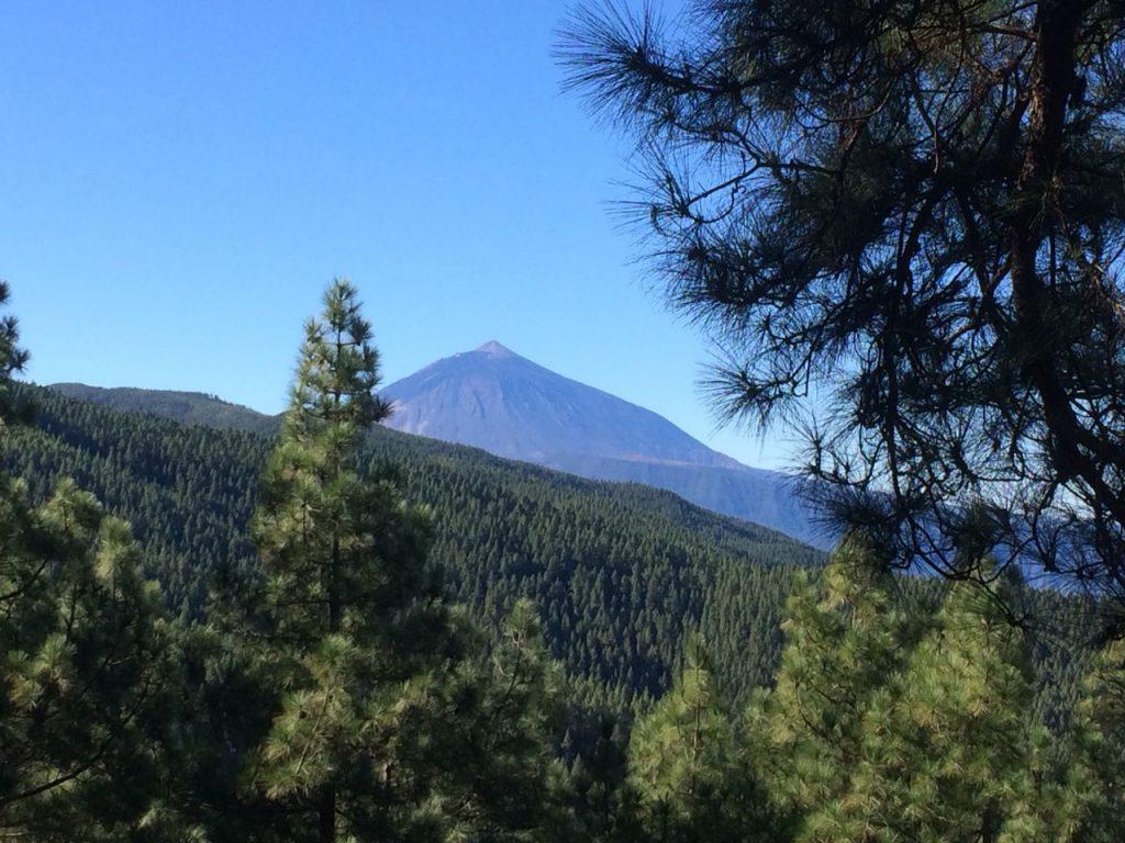 Traumhafte Aussichten, der Teide