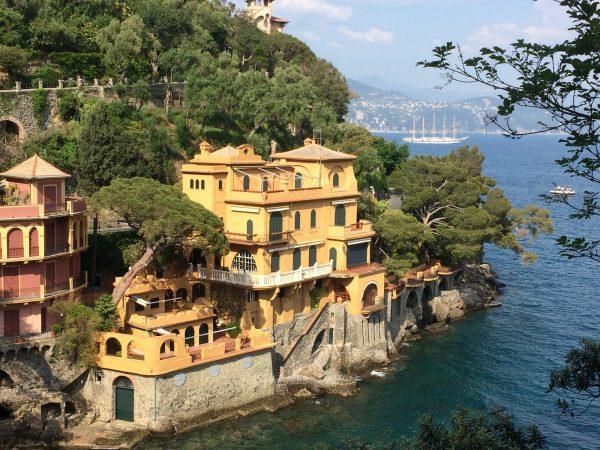 Schön, schön, der Golf von la Spezia