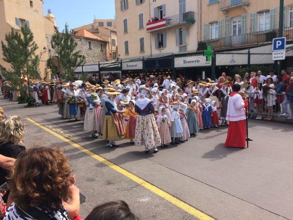 Stadtfest in St. Tropez