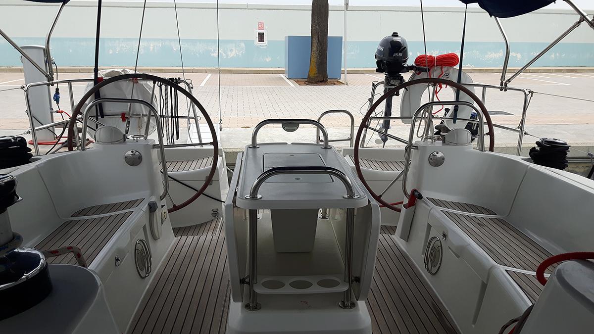Das schöne große Cockpit