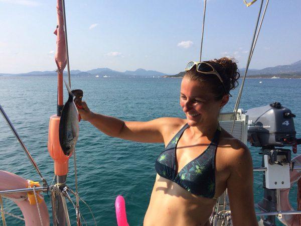 Der erste selbstgefangene Fisch