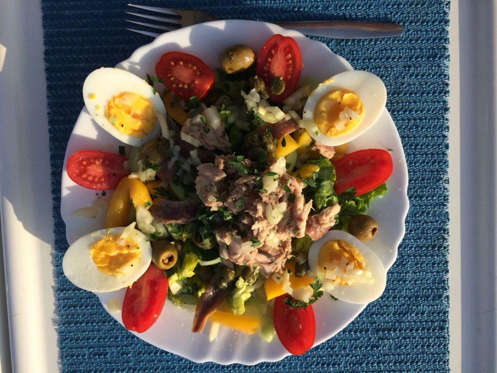 Leckerer Salat Nicoise