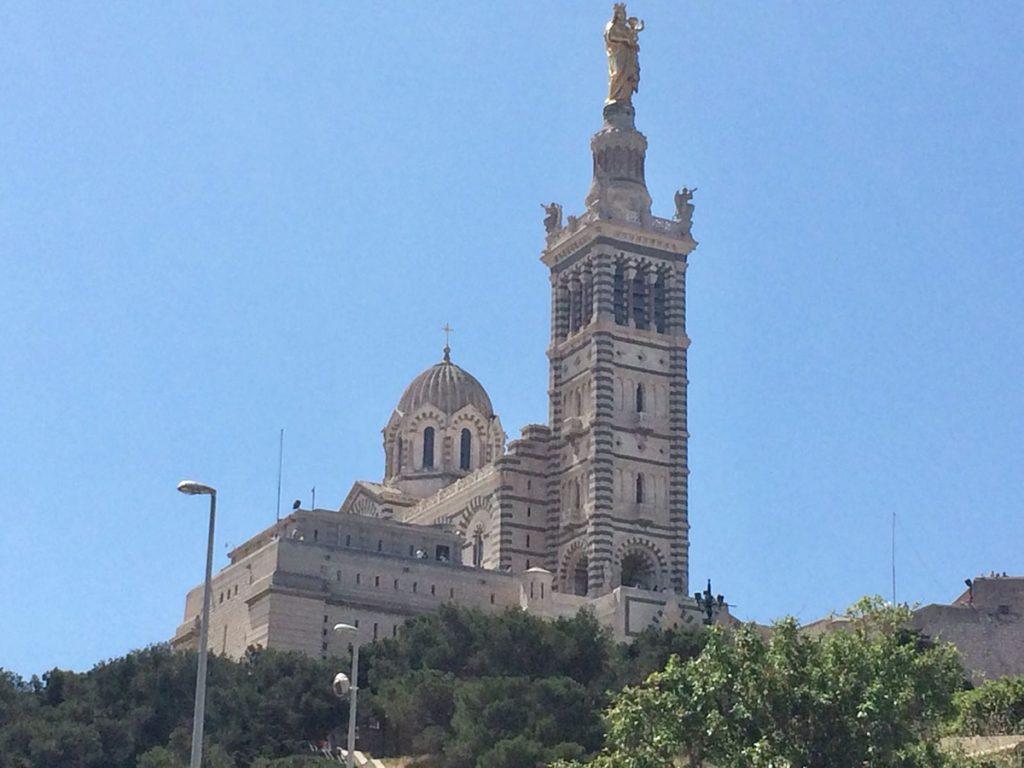 Das Wahrzeichen von Marseille, Notre-Dame de la Garde