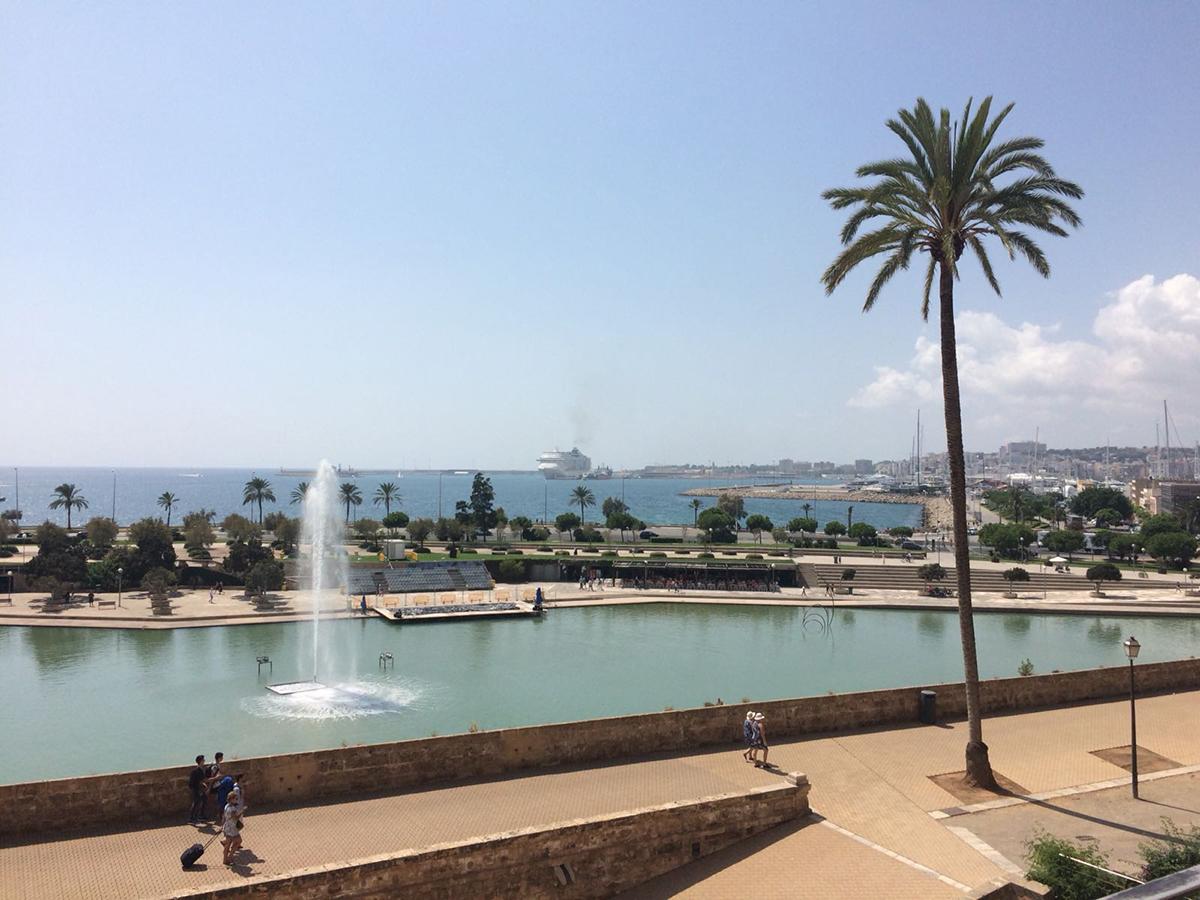 Der Blick auf Palma´s Hafen