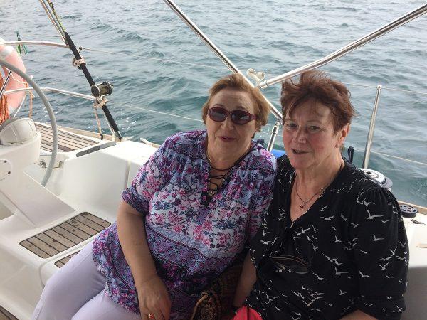 Jörgs Mutter und Tante zu Besuch auf der InsPIRATion