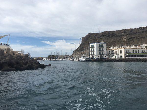 und schon liegt Puerto de Mogan achteraus