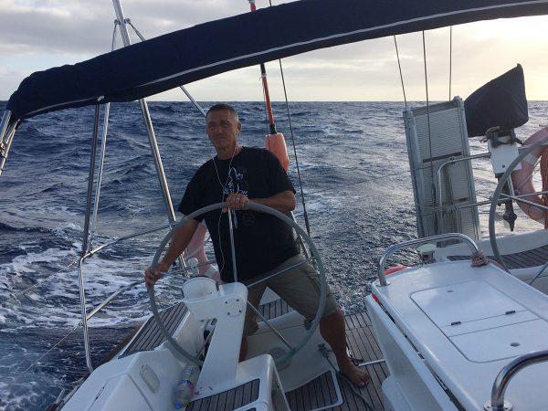 Wind im Segel