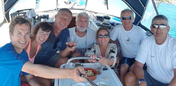 Die erfolgreichen Atlantiküberquerer