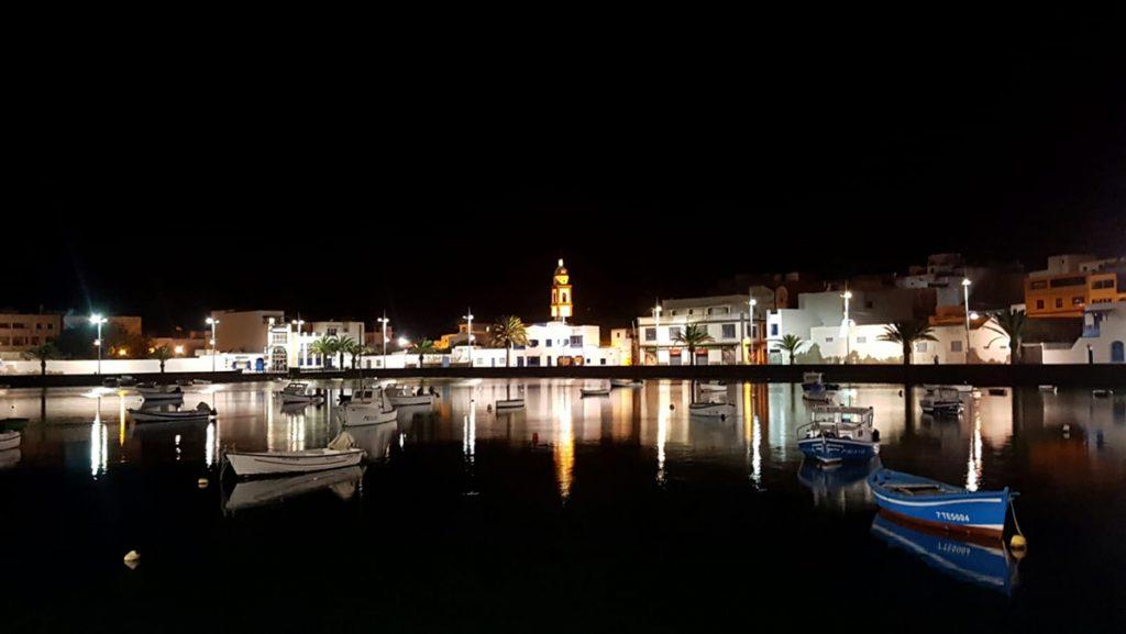 Arrecife bei Nacht
