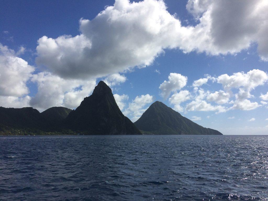 Die Pitons, Wahrzeichen von St. Lucia