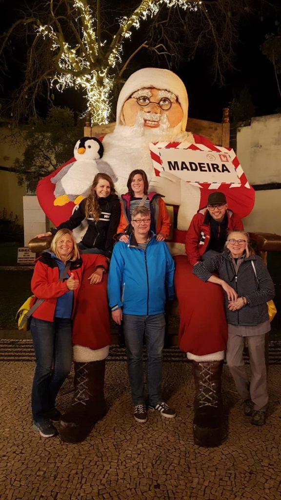 Unser Weihnachtstörn führt uns von Lanzarote nach Madeira