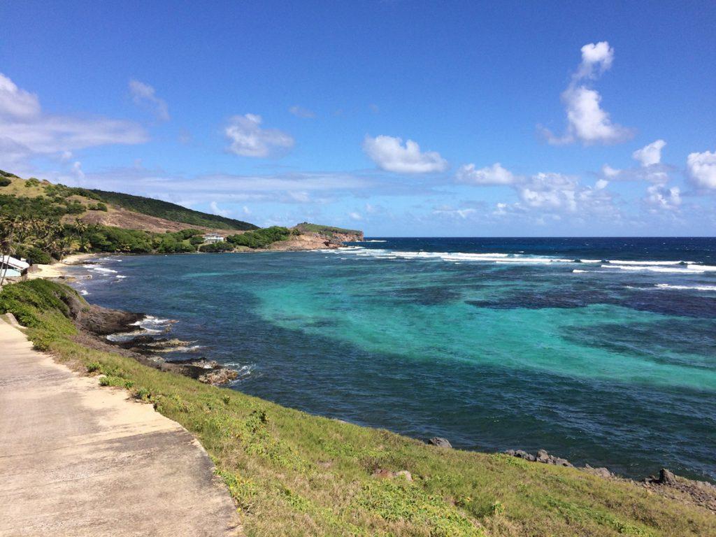 Herrlicher Ausblick auf Bequia, Grenadines