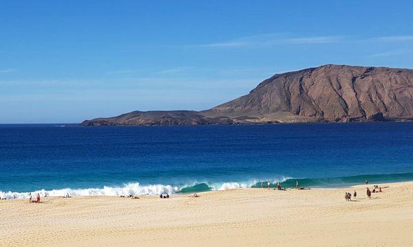 Wanderung auf La Graciosa, der kleinen Insel vor Lanzarote