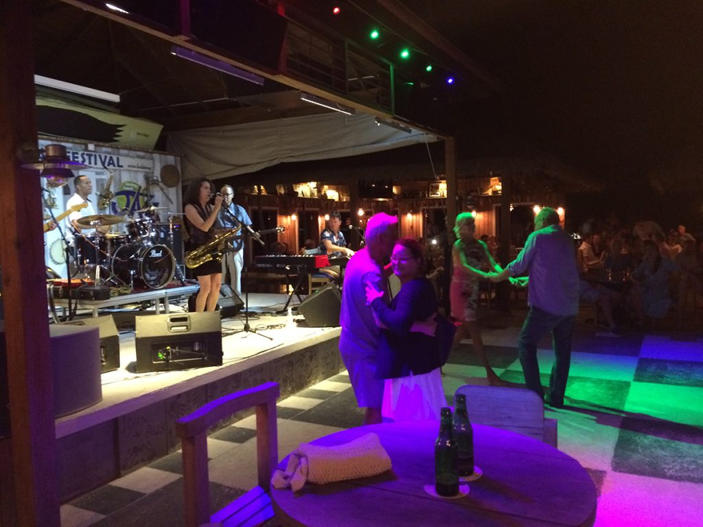 Blues-Festival in Basils Bar auf Mustique