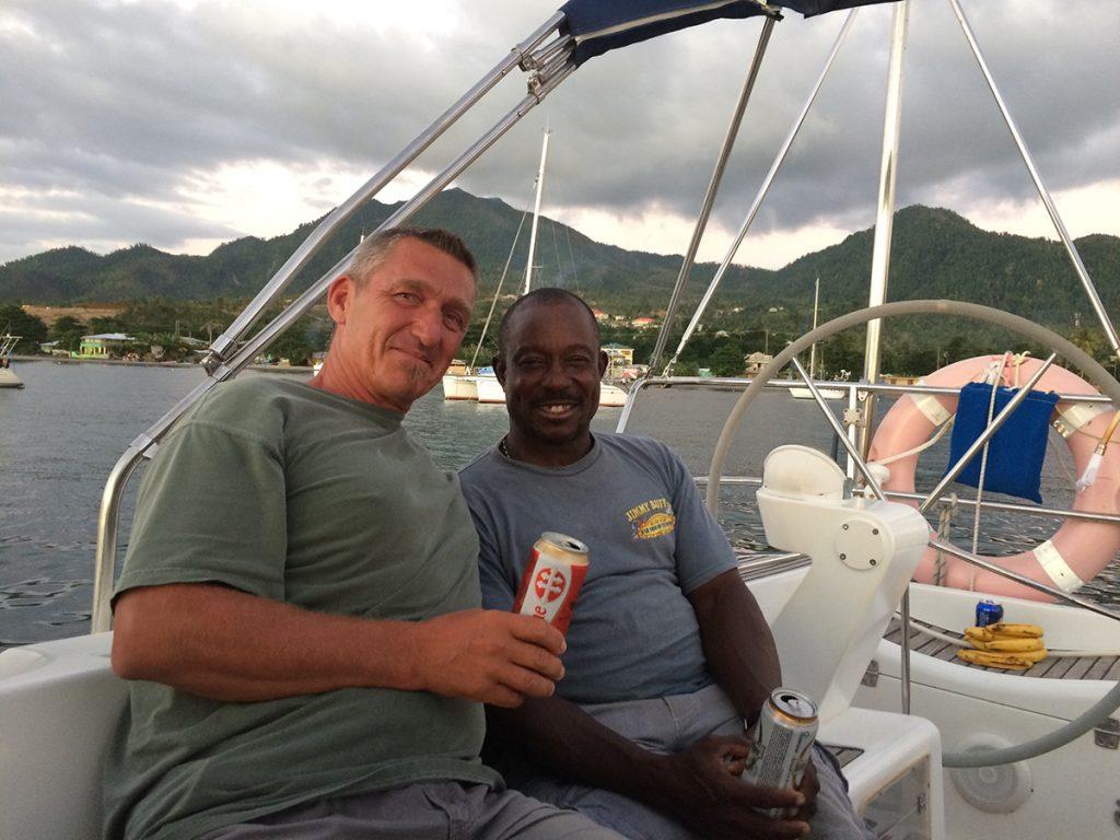 Unserer alter Freund Albert auf Dominica