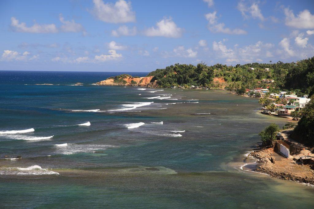 Die Atlantikseite von Dominica