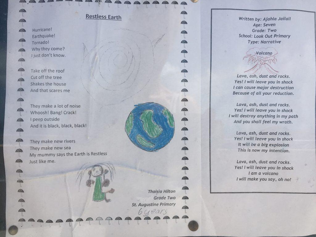 Ein Gedicht von einem kleinen einheimischen Mädchen