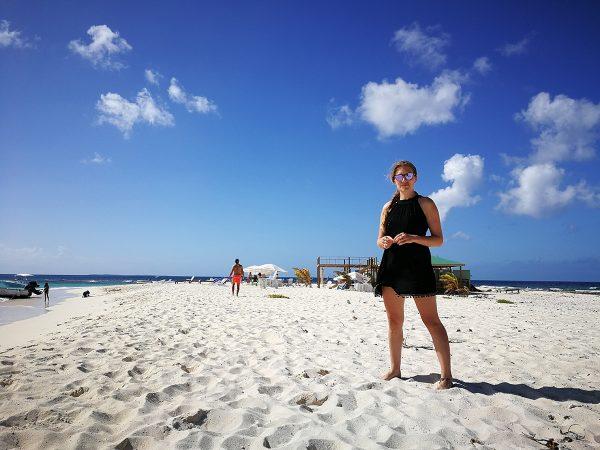 Ein Nachmittag auf Sandy Island