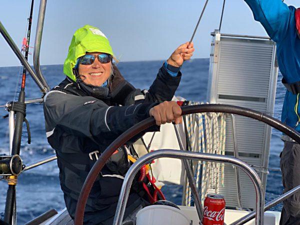 Unsere Skipperin Monika darf sich ab sofort Yachtmaster nennen