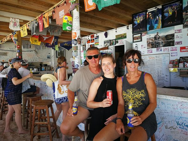 In der One Love Bar auf Jost van Dyke
