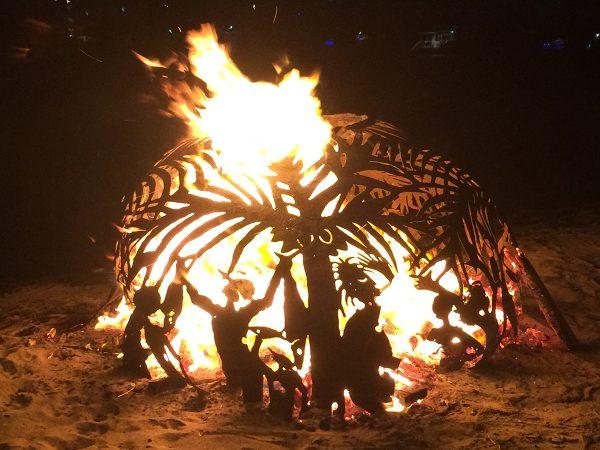 Die Full-Moon-Party auf Beef Island