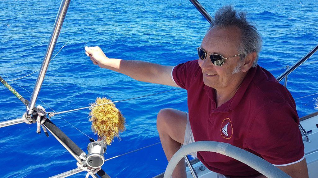 Das Seegras der Sargassosee ärgert uns immer wieder beim Angeln