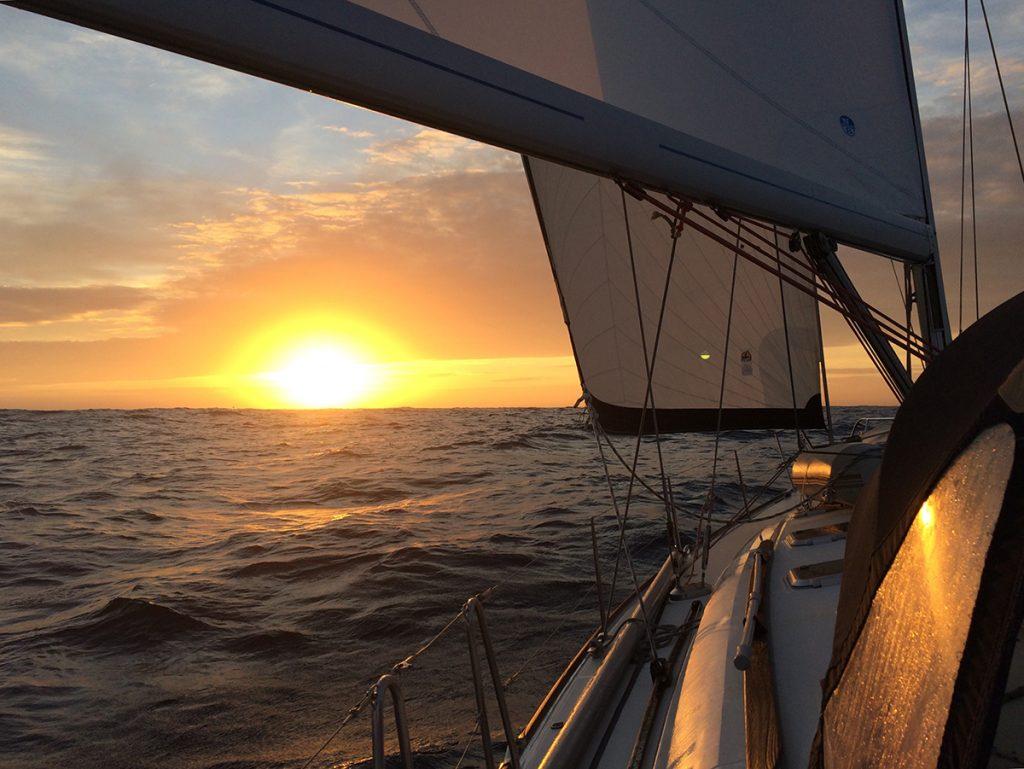 Der Morgensonne entgegen