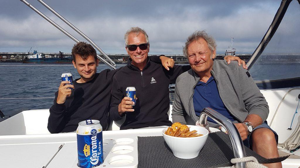 Die glücklichen Atlantiküberquerer