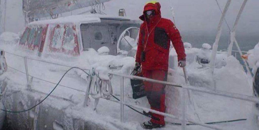 Wer braucht schon sowas?! Wir segeln im Winter auf den Kanaren!
