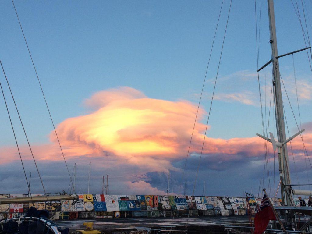 Herrliche Wolkenbilder