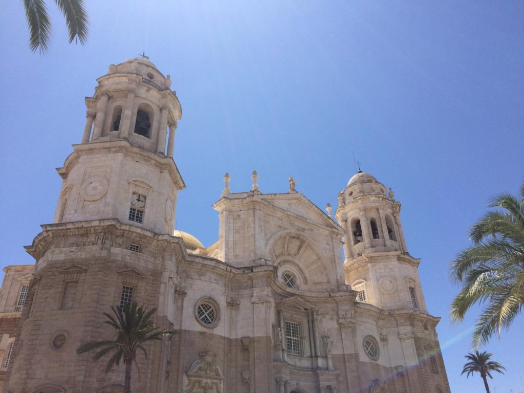 Die Kathedrale in Cadiz