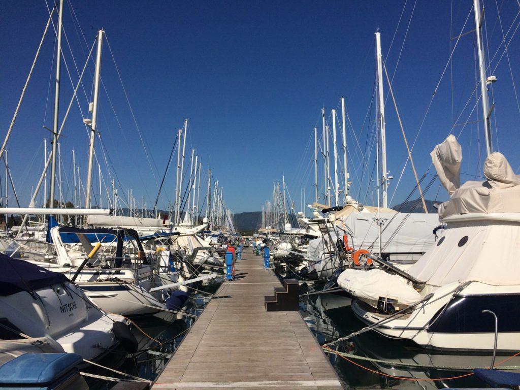 Herrlichstes Wetter beim Saison-Finale am 29.Oktober in Korfu