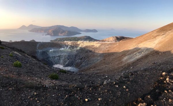 Der Krater von Vulcano