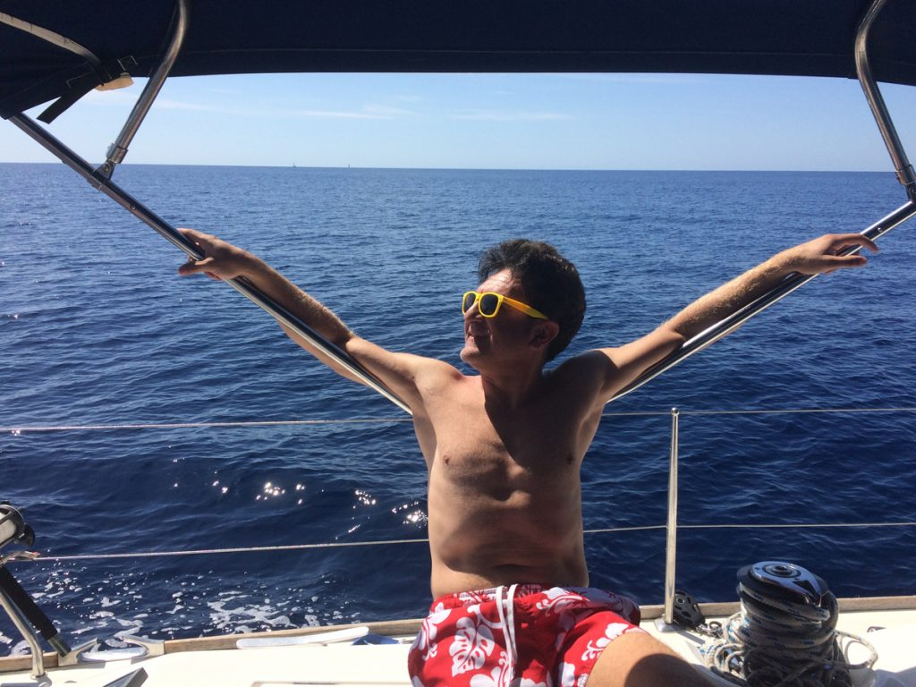 Gechilltes cruisen vor Sardinien