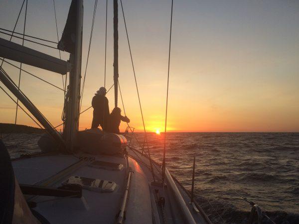 Der sardischen Morgensonne entgegen