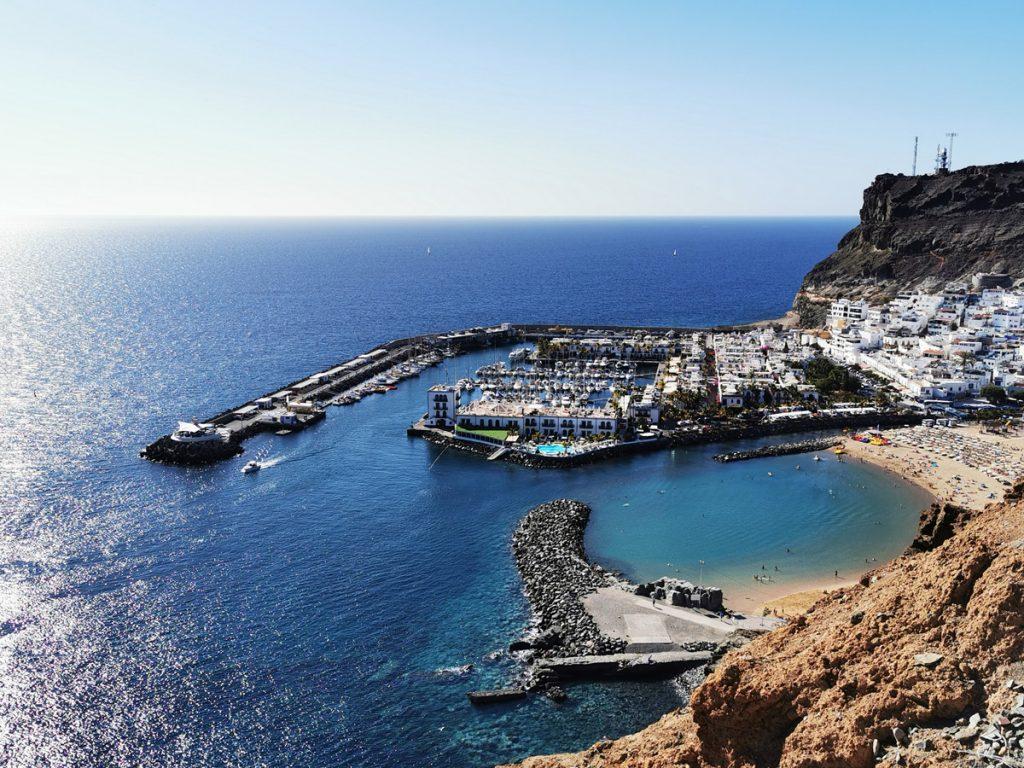 Das wundervolle Puerto de Mogan – unser Ausgangshafen auf Gran Canaria
