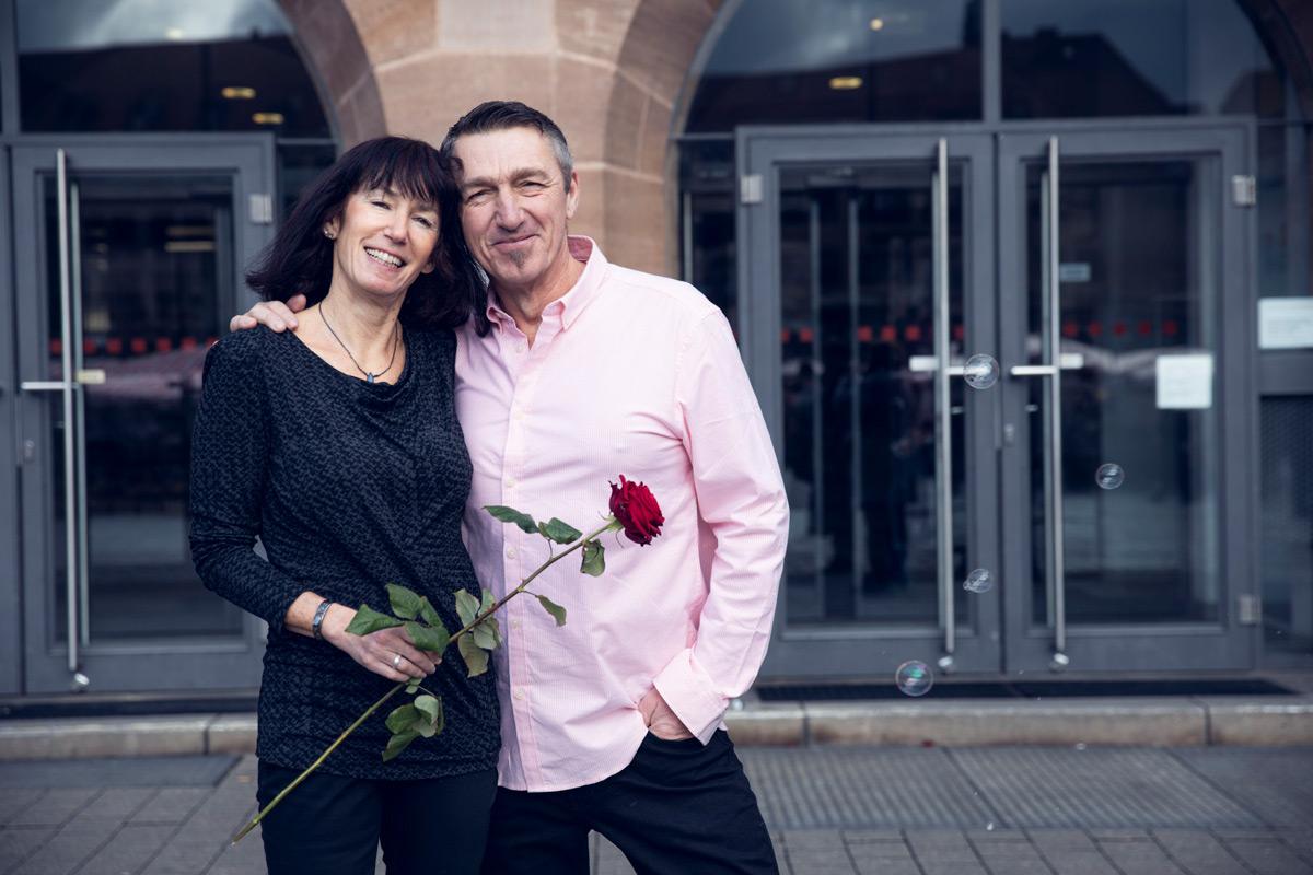 Karin & Jörg haben im Februar geheiratet