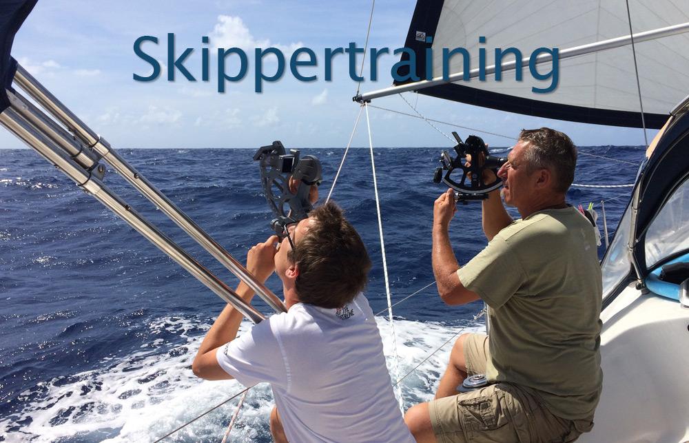 Mitsegeln und Kojencharter Skippertraining
