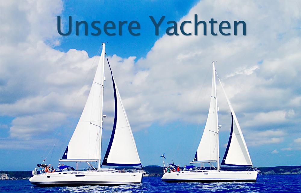 Unsere Yachten