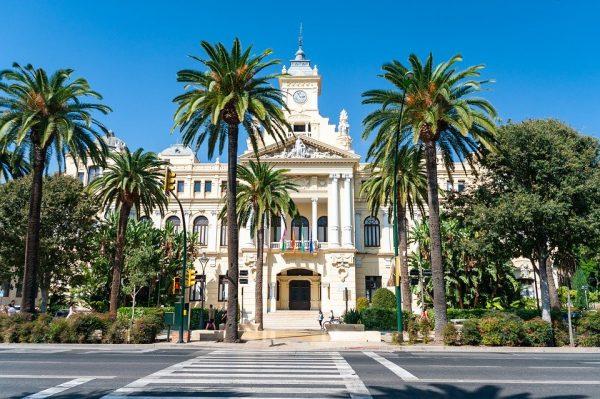 Málaga Andalusien. Wir segeln von Andalusien nach Ibiza