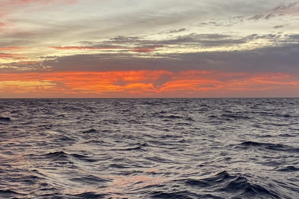 Zurück auf dem Atlantik